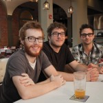 Jay Zimmermann, Tyler Fenton and Andrew Scott of REILLY Craft Pizza & Drink