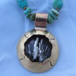 This necklace is waiting to be bought at the VLP 4th annual holiday sale/fund-raiser on Dec. 13. photo courtesy Cheryl Copperstone
