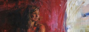 """""""La Placita Detail'"""" by Shana Zimmerman shows as part of her exhibit """"Personal Space"""" at Wee Gallery."""
