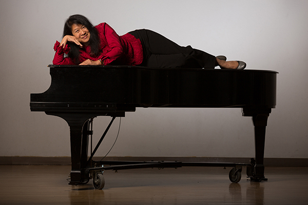 Dr. Paula Fan, pianist and powerhouse behind Confluencenter for Creative Inquiry's Creative Collaborations. photo by Chris Richards Photography/courtesy Paula Fan