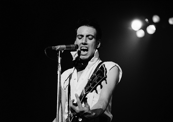 Joe Strummer of The Clash, London Calling Tower Theater Show on March 6, 1980. Photo: John Coffey via Flickr.com